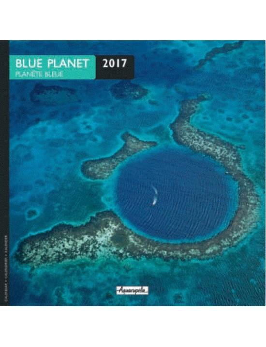 Calendrier 2017 - Planète bleue - Aquarupella
