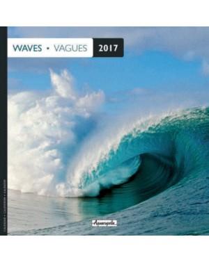 Calendrier 2017 - Vagues - Aquarupella