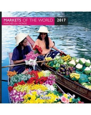 Calendrier 2017 - Marchés du monde - Aquarupella