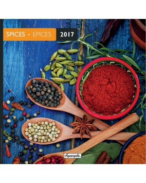 Calendrier 2017 - Epices - Aquarupella