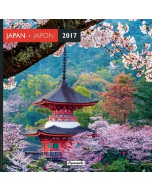 Calendrier 2017 - Japon - Aquarupella