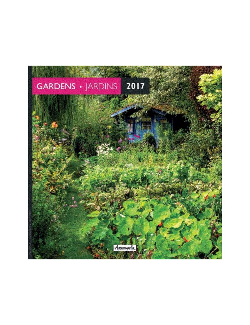 Calendrier 2017 - Jardins - Aquarupella