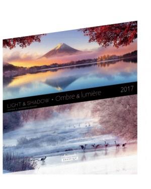 Calendrier 2017 - Ombres et lumières - Aquarupella