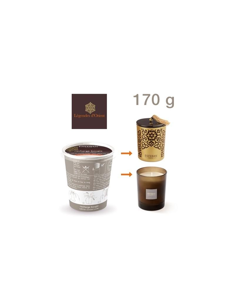 Recharge pour bougie parfumée Légende d'Orient Esteban
