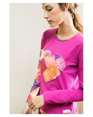 Tee-shirt Romantic Patch - Desigual