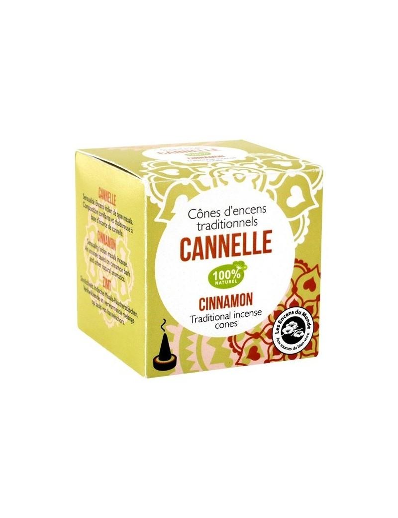 Encens cônes indien Cannelle - Les Encens du Monde