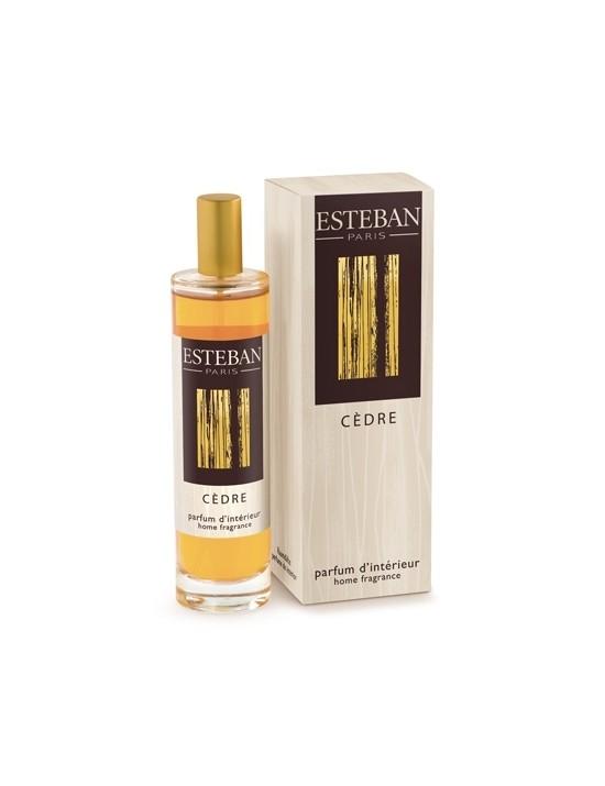 Vaporisateur de parfum d'ambiance Cèdre 50ml - Esteban