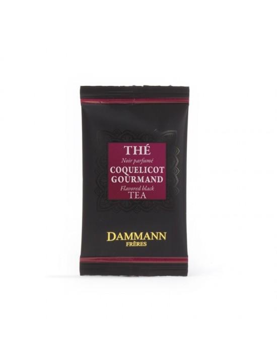 Thé noir coquelicot gourmand - Dammann frères