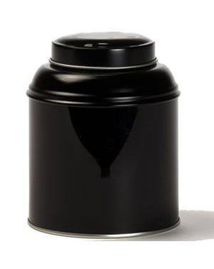 Boite à thé dôme noire