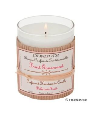 Bougie parfumée artisanale Fruit gourmand - Durance