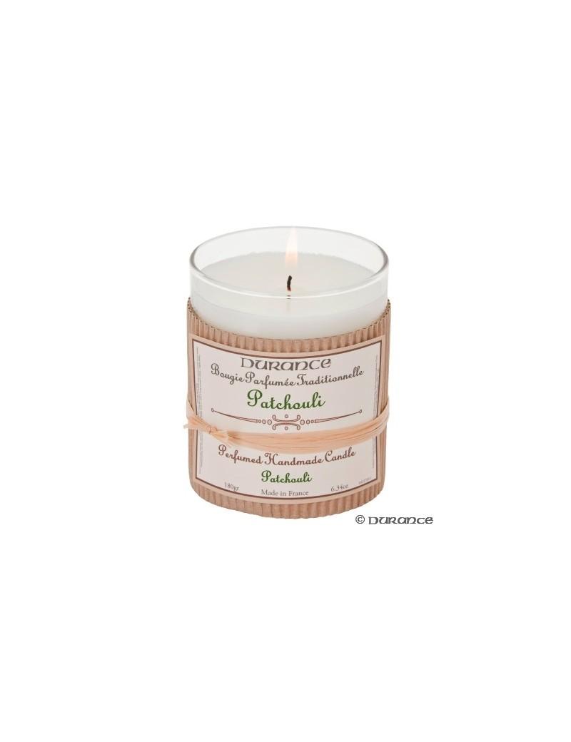Bougie parfumée artisanale au Patchouli - Durance