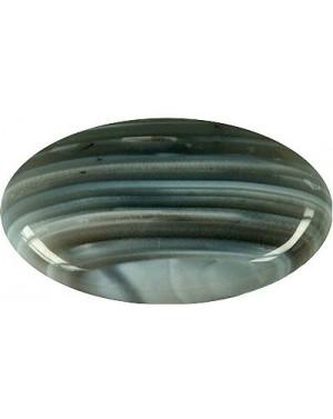 Agate rubanée en galet 3,5x4cm
