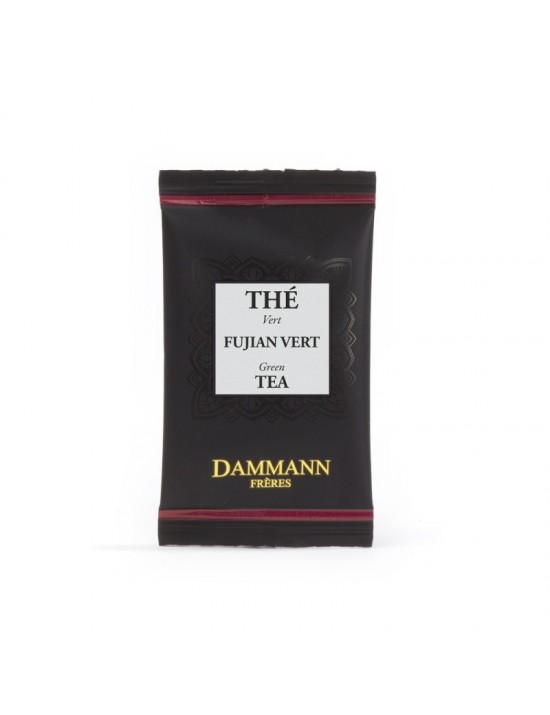 Thé vert Fujian en sachet emballé - Dammann frères