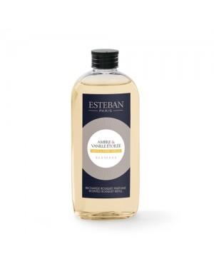 Recharge pour bouquet parfumé Ambre  et  Vanille etoilée - Esteban