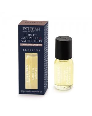 Concentré de parfum Cashmere  et  Ambre gris - Esteban