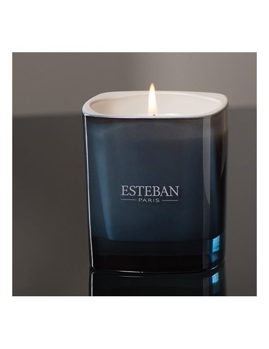 Bougie parfumée Lin et Petitgrain - Esteban