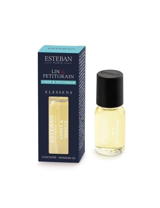 Concentré de parfum Lin  et  Petitgrain - Esteban