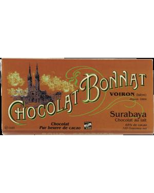 Tablette de chocolat Surabaya GCL 100gr - Bonnat