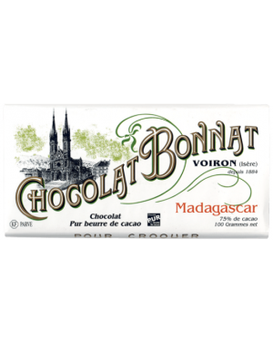 Tablette de chocolat Madagascar 100gr - Bonnat