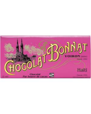 Tablette de chocolat Haiti - Bonnat