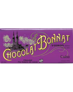 Tablette de chocolat Cuba - Bonnat