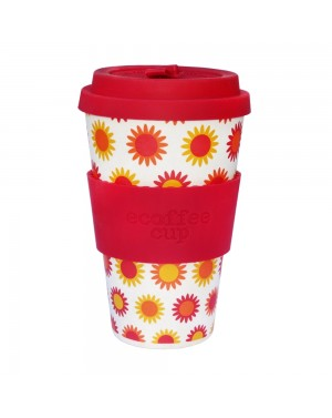 Mug en fibre de bambou Happy 400ml