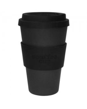 Mug en fibre de bambou Blackout 400ml