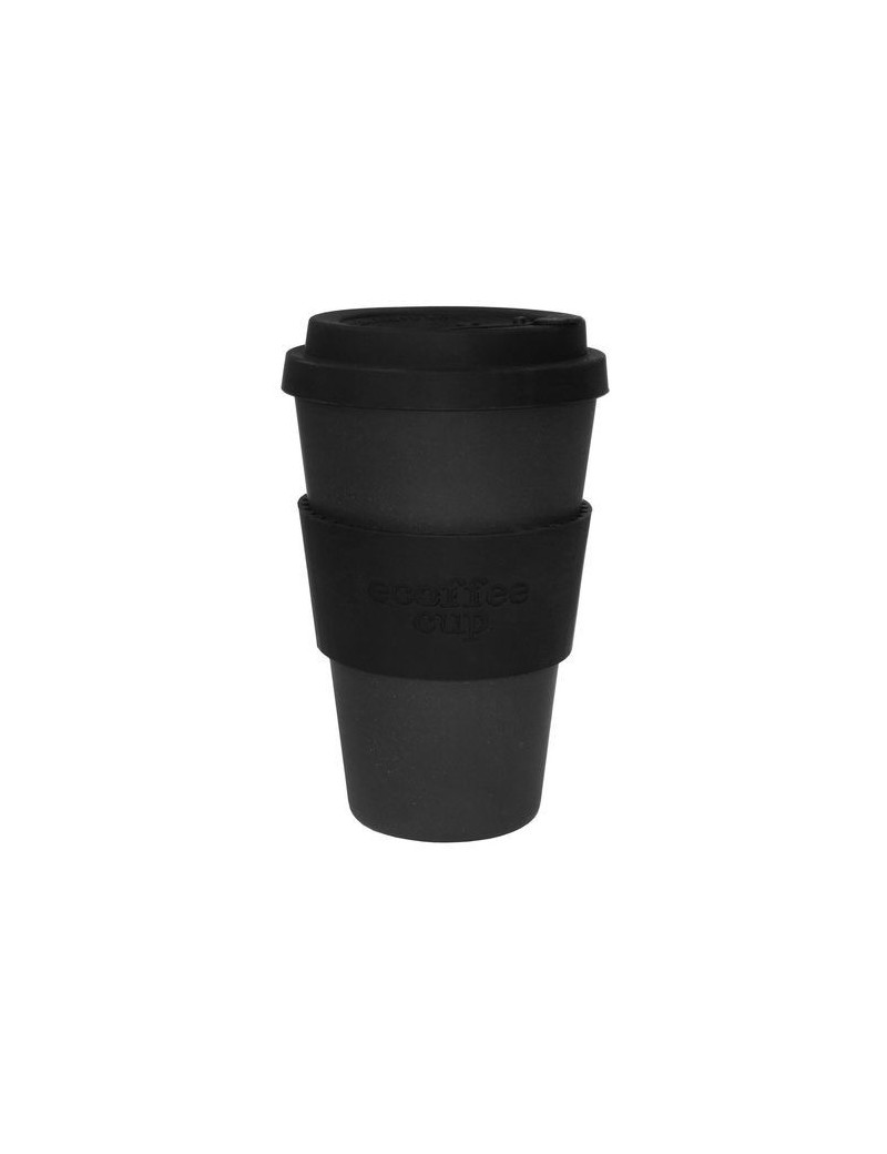 Mug en fibre de bambou Blackout 400ml