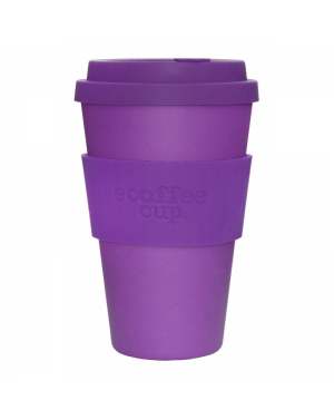 Mug en fibre de bambou Purple reign 400ml