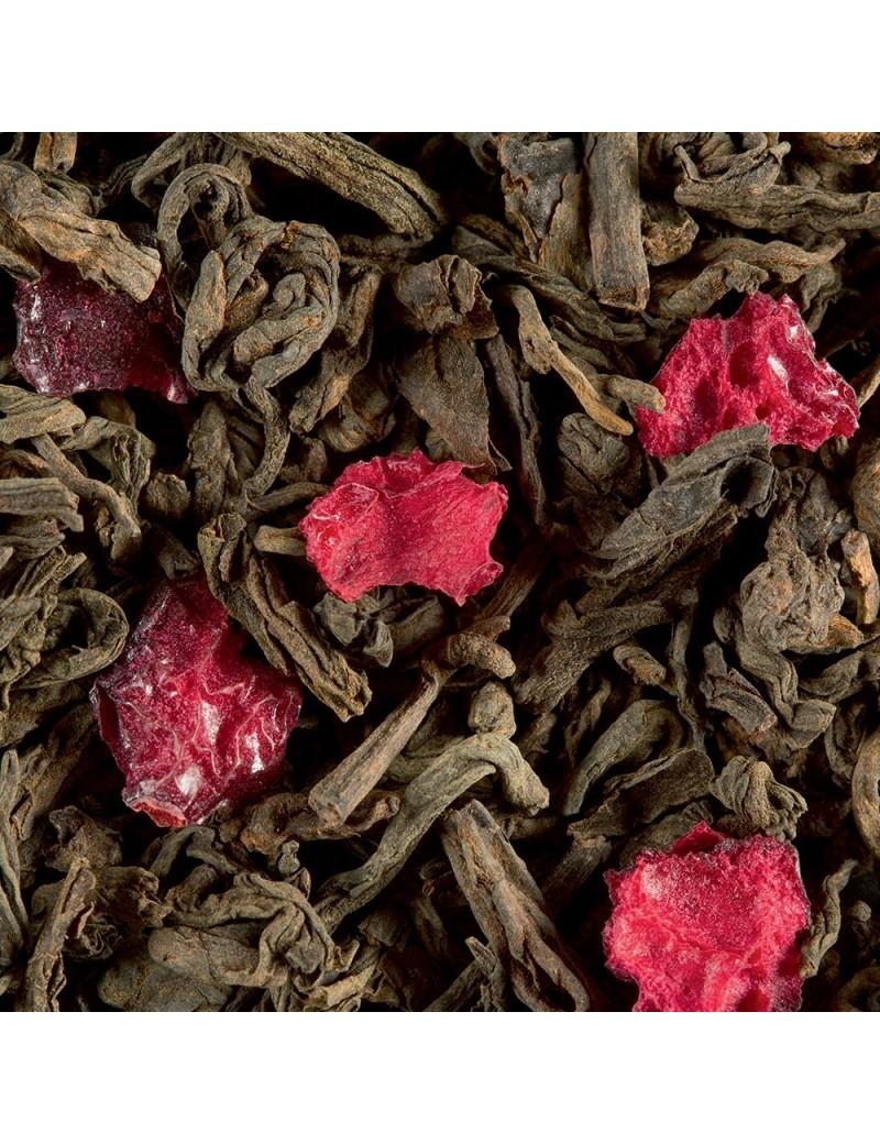 Thé Pu Erh fruits rouges - Dammann frères