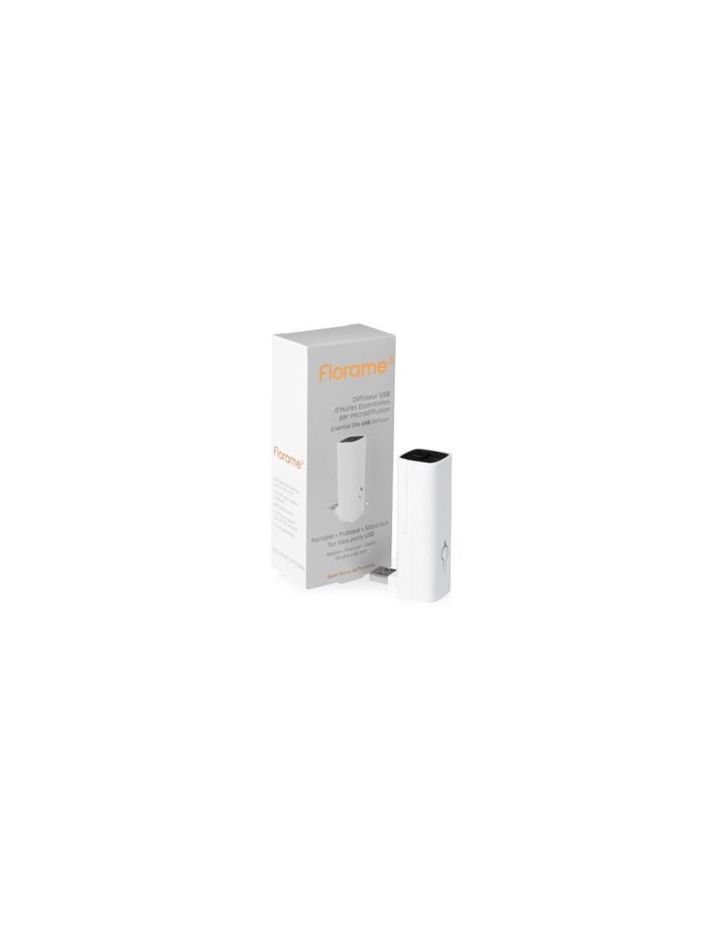 Diffuseur USB d'huiles essentielles blanc - Florame