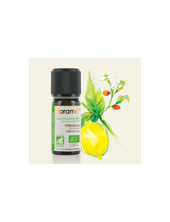 Citron distillé huile essentielle - Florame