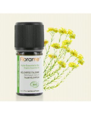 Huile essentielle Hélichryse italienne Bio 5ml - Florame