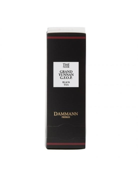 Thé noir Grand Yunnan en sachet emballé - Dammann frères