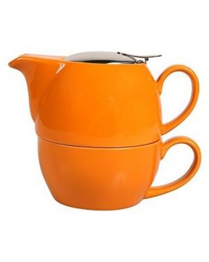 Egoiste boule en céramique 0,65l orange