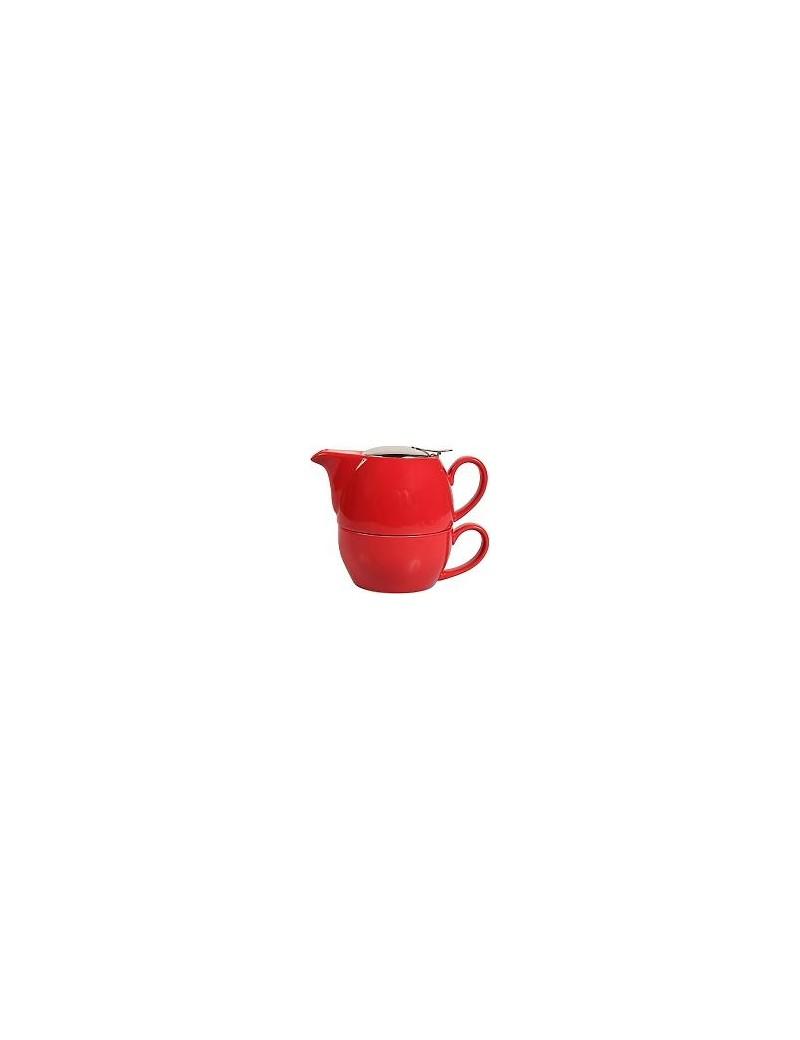 Egoiste boule en céramique 0,65l rouge