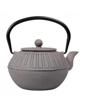 Théière en fonte Samourai 1L gris taupe