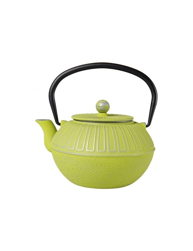 Théière en fonte Samourai 1L vert anis