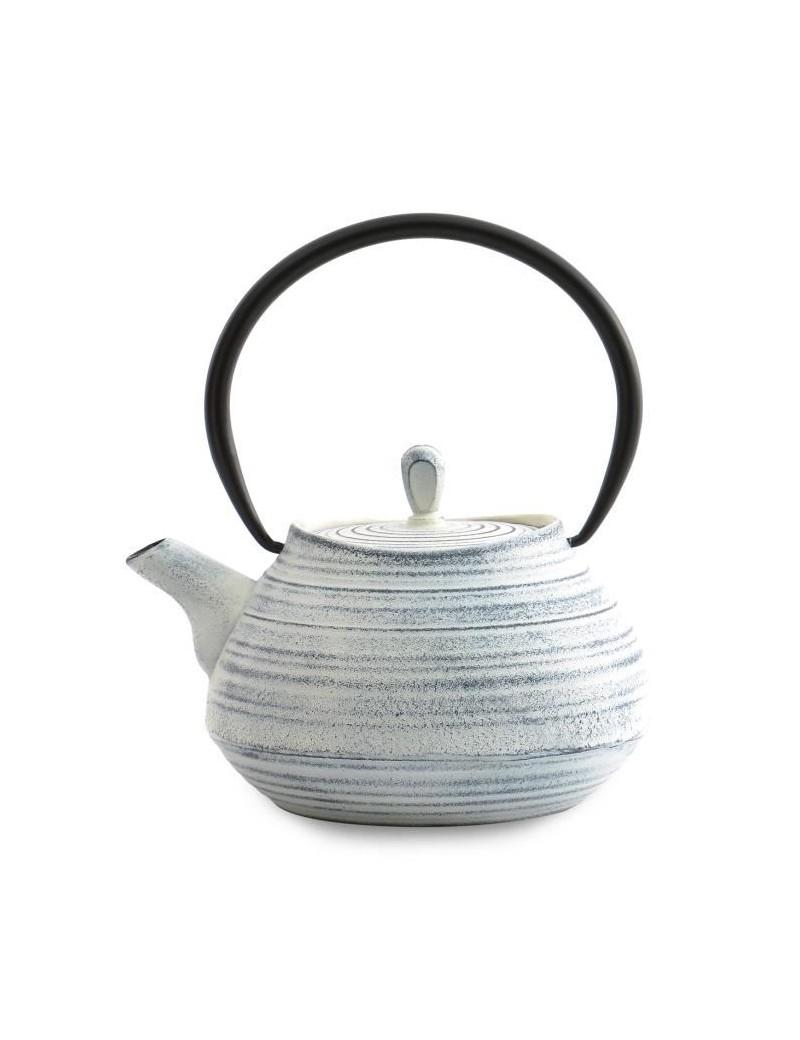 Théière en fonte Tea pot  1L blanc