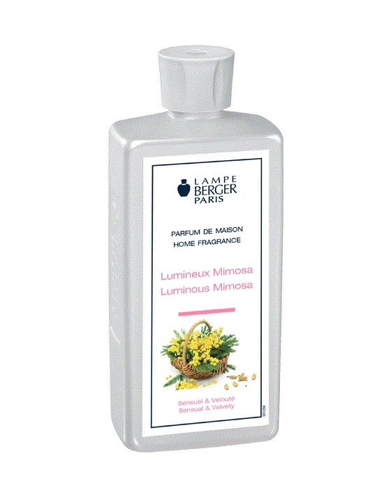 Parfum de maison lumineux Mimosa - Lampe Berger