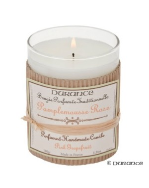 Bougie artisanale Pamplemousse rose - Durance