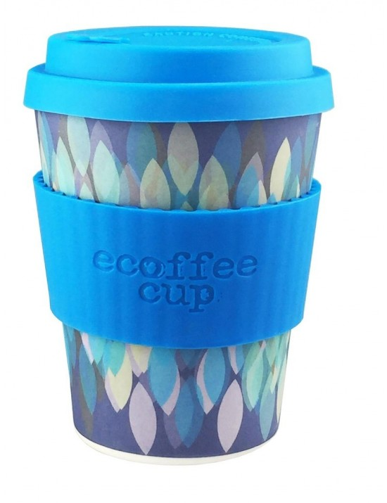 Mug en fibre de bambou Skura Blue 355ml