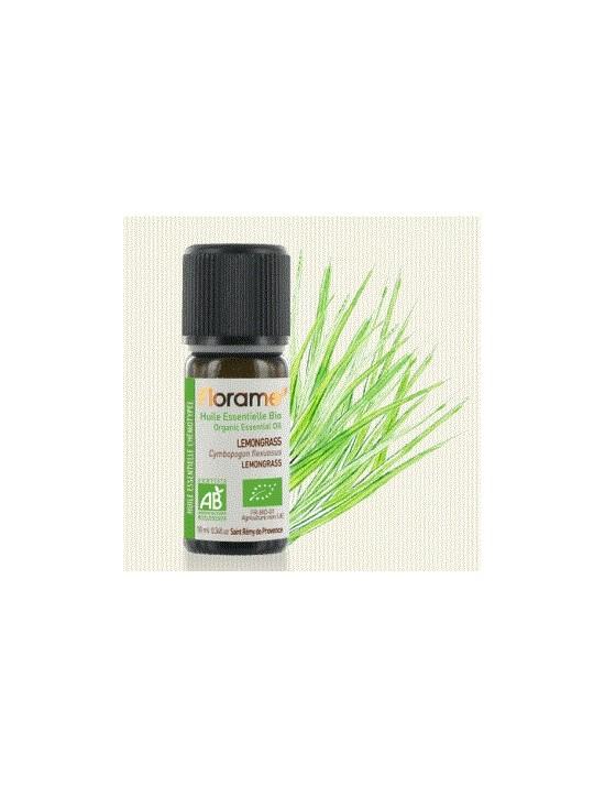 Huile essentielle lemongrass bio