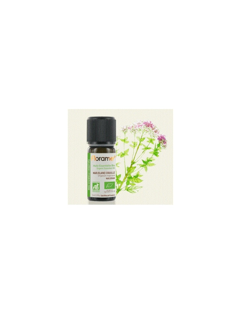 Huile essentielle marjolaine à coquille (origanum majorana)