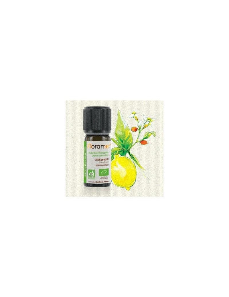 Huile essentielle citron zeste bio - Florame