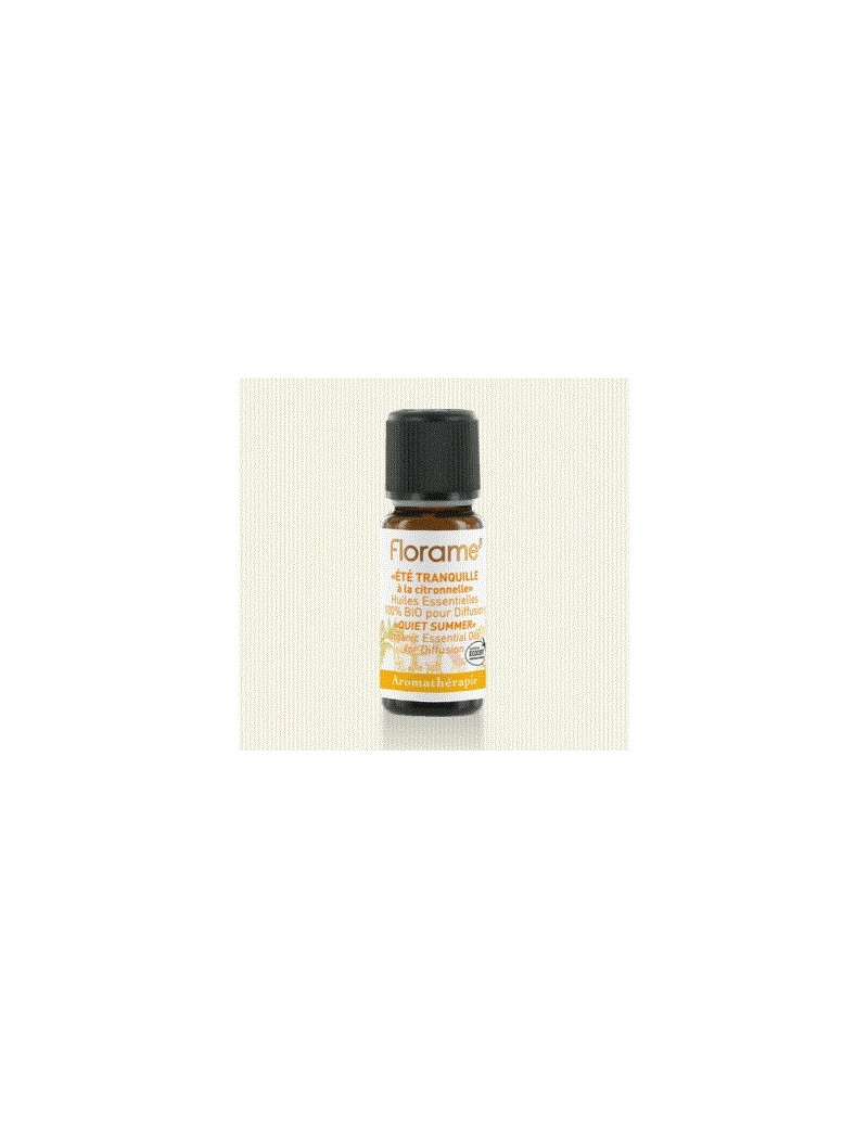 ETE TRANQUILLE : COMPOSITION D'HE 100pourcent BIO 10ML