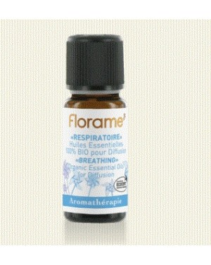 RESPIRATOIRE : COMPOSITION D'HE 100% BIO 10ML
