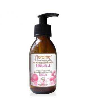 Huile de massage Sensuelle cosmébio - Florame