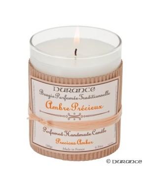Bougie parfumée traditionnelle Ambre précieux - Durance