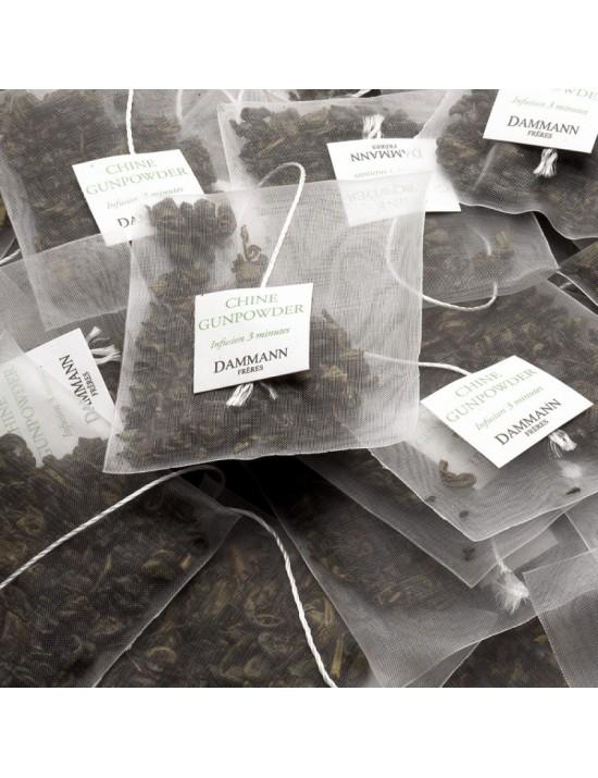 Thé vert de Chine Gunpowder - Dammann frères